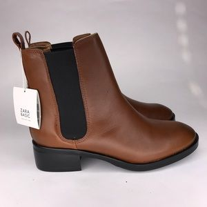 Zara Women's Boots Basic Collection Size 7